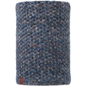 Buff Lifestyle Knitted and Polar Fleece Margo Nekwarmer, blue